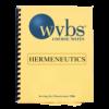 Hermeneutics Notebook