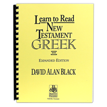 Learn to Read New Testament Greek Book