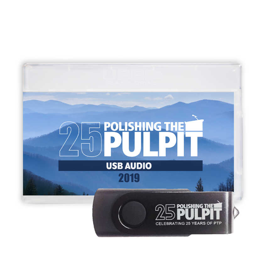 MP3-USB Audio Polishing The Pulpit 2019 Case