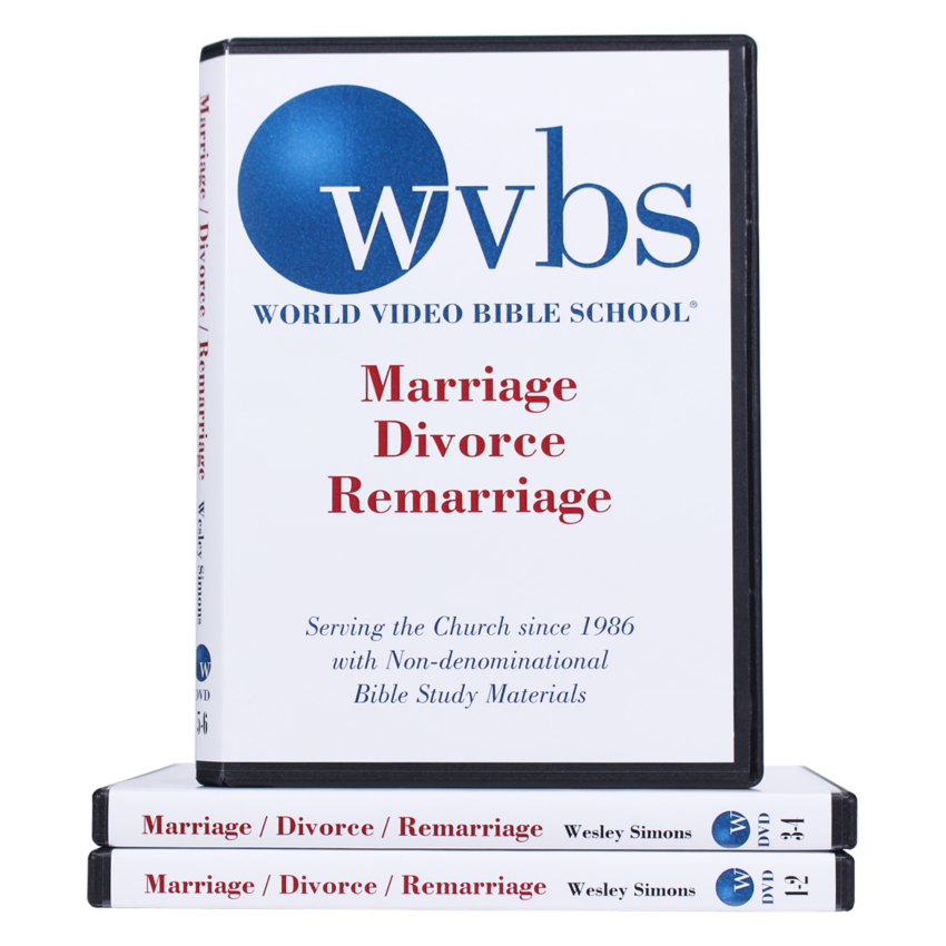Marriage, Divorce and Remarriage DVD