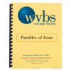 Parables of Jesus Notebook