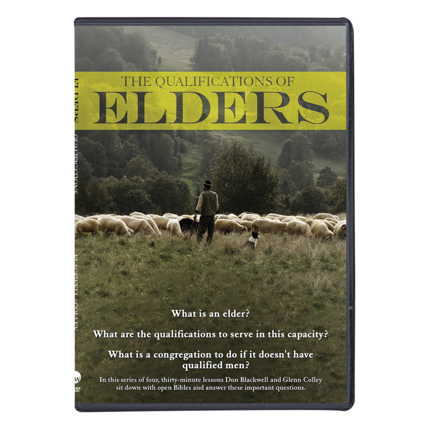 Qualifications of Elders DVD