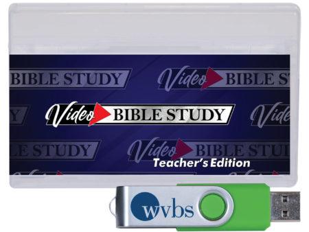 Video Bible Study Teachers Edition USB