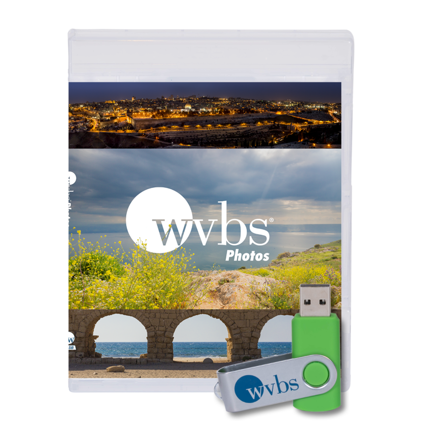 WVBS Photos Case and USB