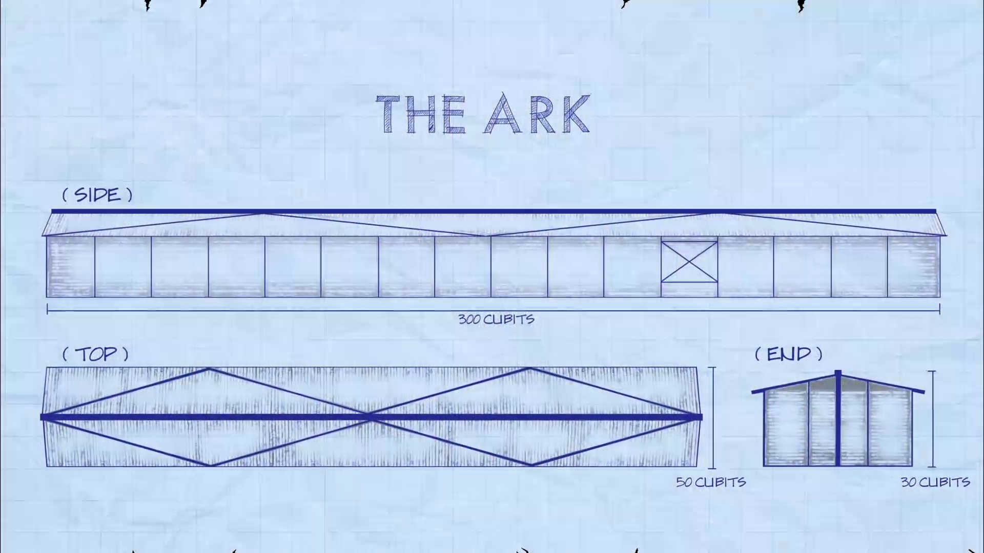 Noah's Ark Blueprint Structure